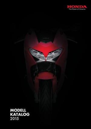 Tenk Kommunikasjon- tekstforfatter   Den årlige Honda MC Modellkatalogen