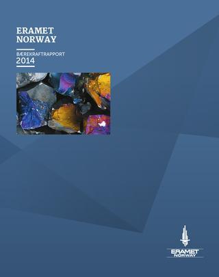 Tenk Kommunikasjon- tekstforfatter   Den årlige bærekraftrapporten til Eramet Norway