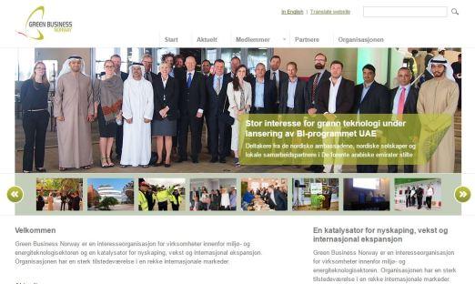 Green Business Norway- informasjonsansvarlig   Nyhetsbrev og nyheter på nettsidene