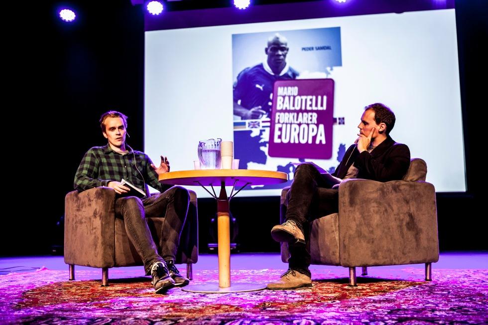 Peder Samdal (t.v.) og Ole I.B. Storø (t.h.). Foto: Kai Hansen